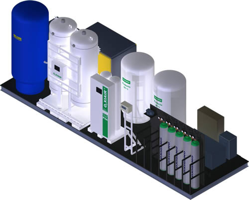 Generador PSA de Oxígeno Medicinal | Bexsa | Bell Export S.A.